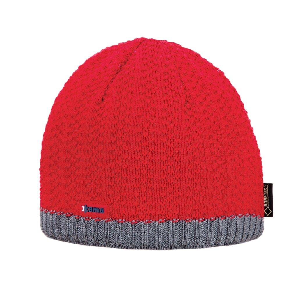59c4a1f5067d7 Merino KAMA AG18 Beanie Gore-tex - Red - Woolville.com