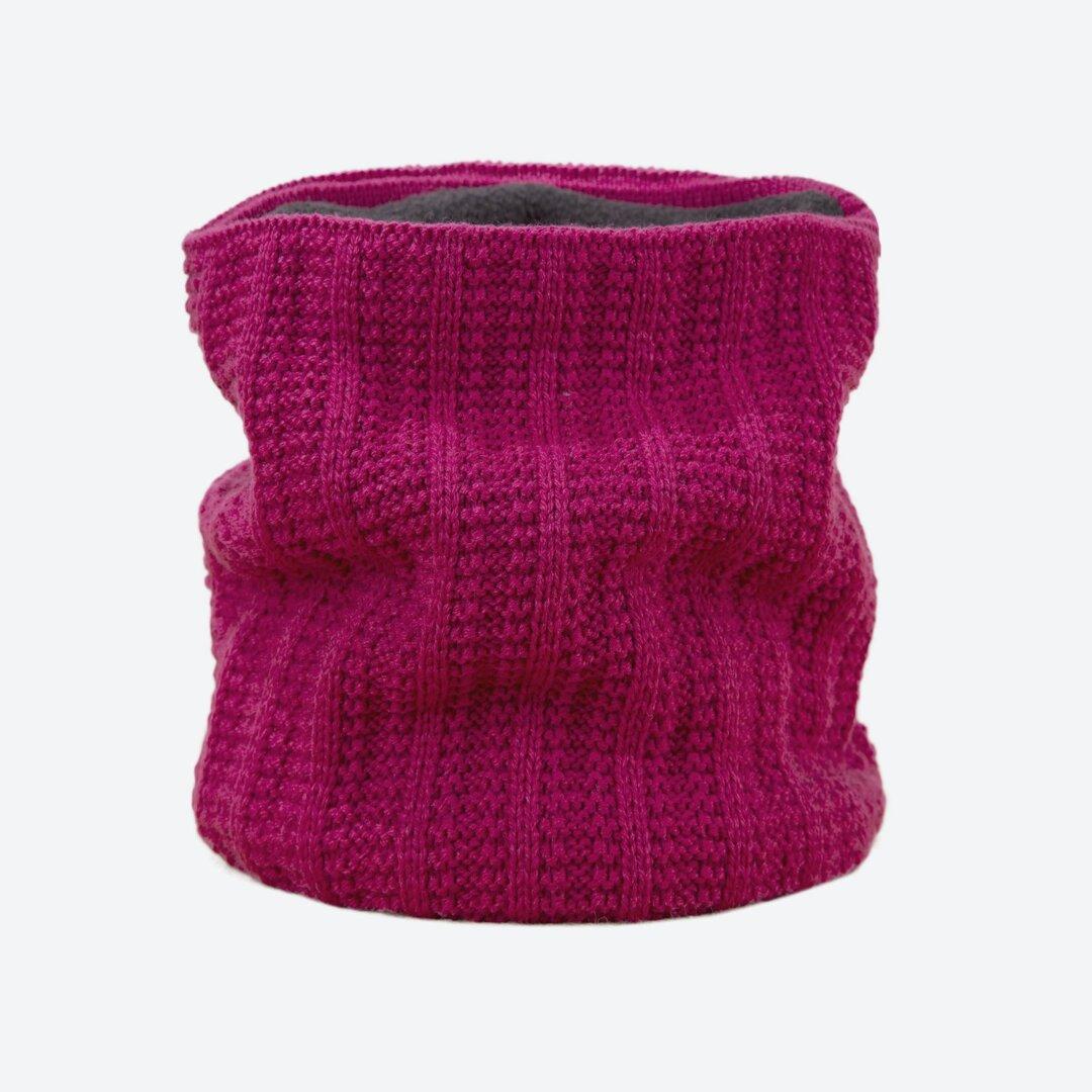 Knitted Neck Warmer Merino Kama S18 Light Gray