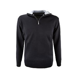 Unisex sweater merino Kama 4104 - Black