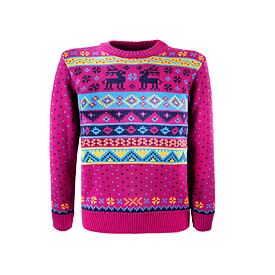 Kid!s sweater merino Kama 1010 - Pink