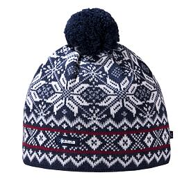 Beanie Merino KAMA AW06 Gore-Windstopper - Navy Dark blue