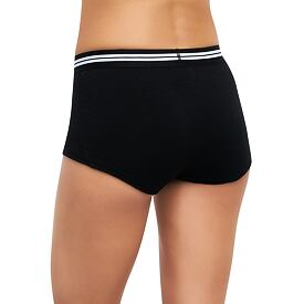 Women's functional boxers MERINO LIFE Thermowave Black
