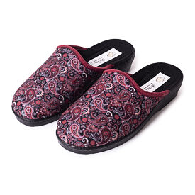 Women's open orthopedic slippers Orient Red