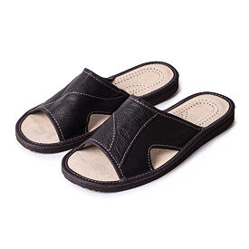 Men's summer orthopedic slippers without a tip