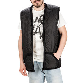 Quilted Vest from sheep wool.