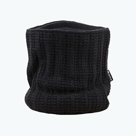 Knitted neck warmer merino Kama S18 - Dark Gray