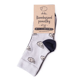 Bamboo children's socks with Sheep 2 pairs