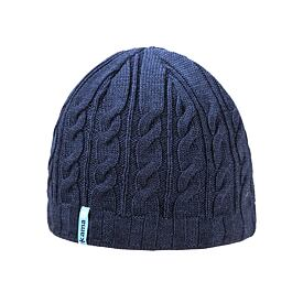 Knitted cap merino Kama A110 - Navy Dark blue