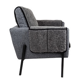 TV chair cushion 50x100 Gray
