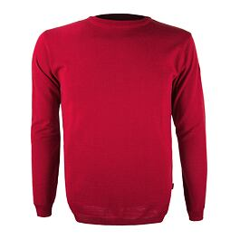 Unisex sweater merino KAMA 4101 - Red