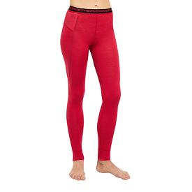 Women's functional pants merino ONE50 Thermowave Red