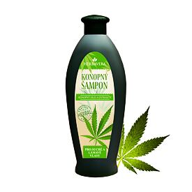 Cannabis shampoo for dry and broken hair 550ml