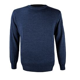 Unisex sweater merino KAMA 4101 - Navy Dark blue