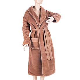 Camel bathrobe - Bronze