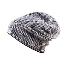 Knitted merino cap KAMA A125 Dark Gray