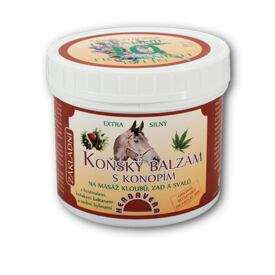 Horse Balm with Hemp 500ml
