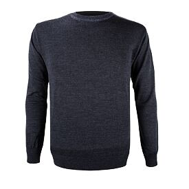 Unisex sweater merino KAMA 4101 - Dark Gray