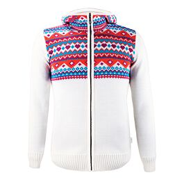 Women's sweater merino Kama K5100 - Off White