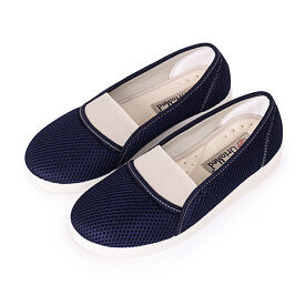 Ladies comfortable orthopedic Ballerinas Blue