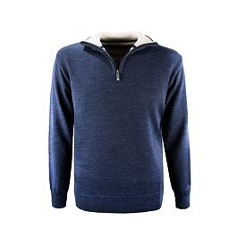 Unisex sweater merino Kama 4105 - Navy Dark blue