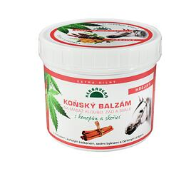Horse balm with hemp Cinnamon 500ml