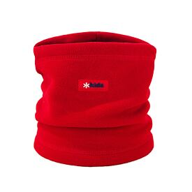Kid's knitted neck warmer fleece Kama B14 -  Red