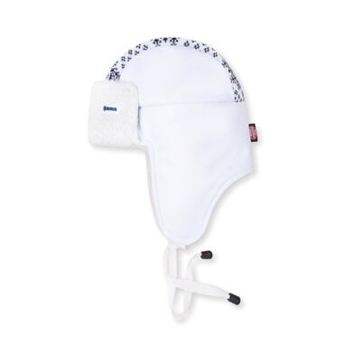 Cap with earflaps Kama AW24 Gore-Windstopper - Off White