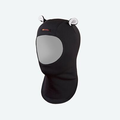 Kid's balaclava fleece  Kama DB20 - Black