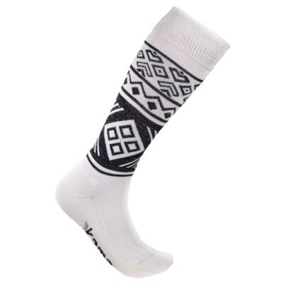 Knee socks KAMA F02 - White