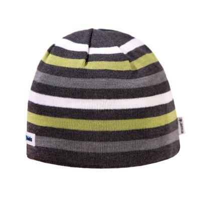 Kids knitted merino cap KAMA B70  - Dark Gray