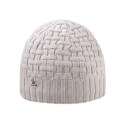 Knitted cap merino Kama A112 - Off White