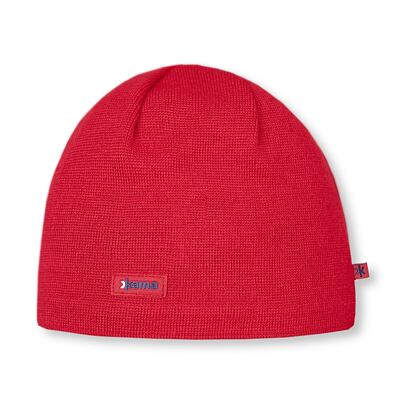 Knitted merino cap Kama AW19 Windstopper Soft Shell - Red