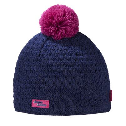 Knitted cap merino Kama K36 - Navy Dark blue